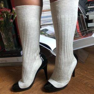 Chanel Sock Heels